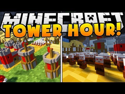 THE #1 GAME IN MINECRAFT REALMS - TOWER HOUR