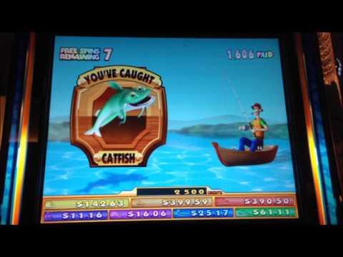 reel em in slot machine bonus win