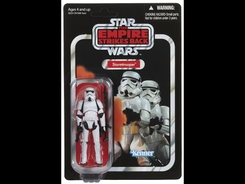 Star Wars Stormtrooper Vintage Collection HD Action Figure Review | www.flyguy.net