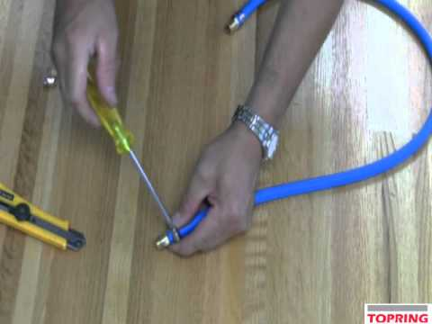comment reparer tuyau karcher