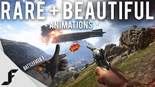 Rare and Beautiful Battlefield 1 Animations