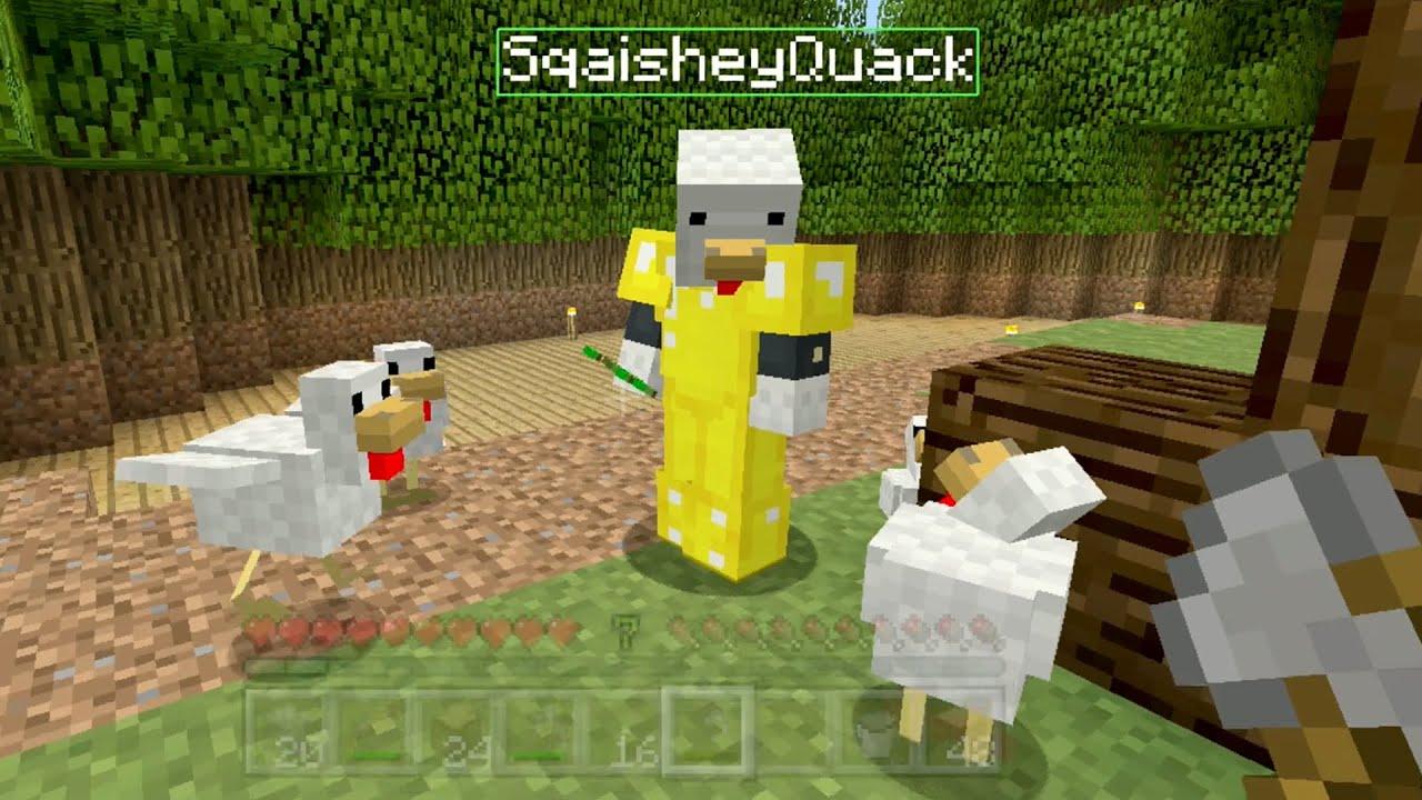Minecraft Xbox Sky Den Chickens In Love 15 YouTube