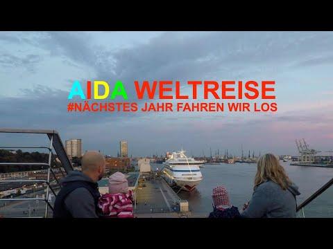AIDAaura Aida Weltreise 2019 2020! Mit der ganzen Familie um die Welt! Kinder