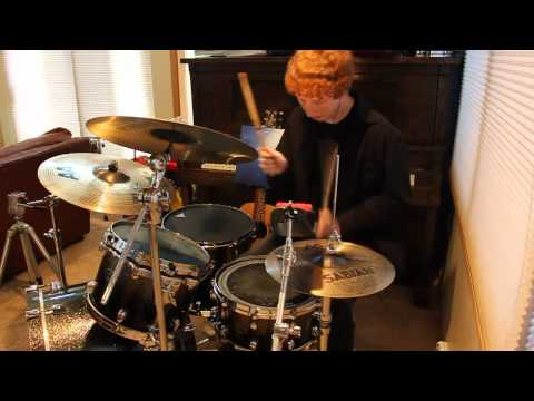 Foals - Black Gold Drum Cover Video