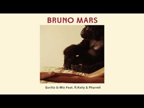 Bruno Mars Feat. R. Kelly & Pharrell - Gorilla G-mix [audio] video