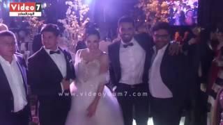 حفل زفاف المطربة ساندى وحازم كتانة بحضور نجوم الفن