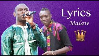 Pape Diouf | Malaw - Lyrics