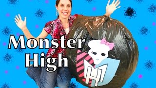 GIANT Monster High Surprise Egg Mattel Dolls Video Largest SURPRISE TOYS Barbie Dolls Sorpresa
