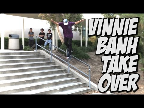 VINNIE BANH CHANNEL TAKE OVER Pt. #2 !!! - A DAY WITH NKA -