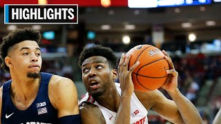 Highlights: Wesson Earns Double-Double in WIn | Penn State at Ohio State | Dec. 7, 2019