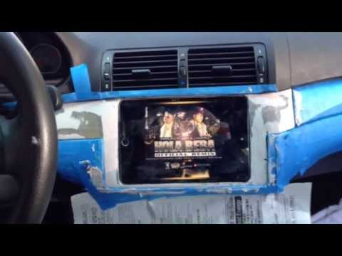 BMW M3 E46 with ipad Mini Install Part 1
