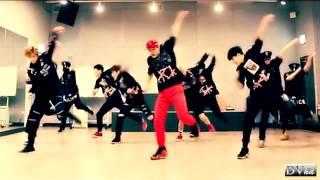 Monsta X - Trespass (dance practice) DVhd