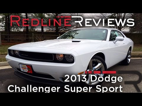 2013 Dodge Challenger Super Sport Review. Walkaround. Exhaust. & Test Drive