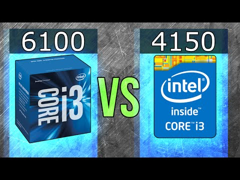 Intel i3-6100 vs i3-4150