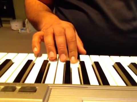 Sajan aa jao-Aag hi Aag on keyboard