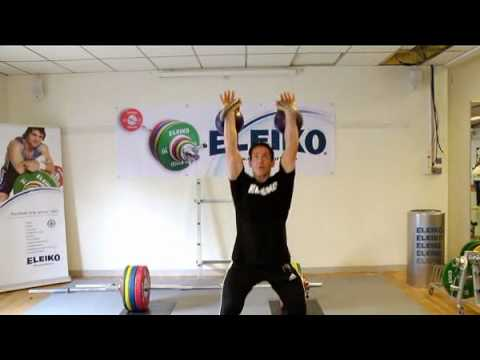 Steve Cotter -- Kettlebell training by Eleiko Image 1