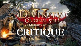 Divinity Original Sin 2 Critique