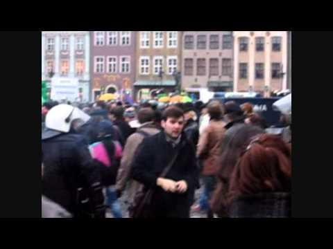 Marsz/Manewry Z Policja. Poznan (20.11.2010)