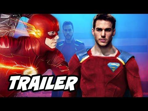 The Flash 4x11 Promo - New Legion of Superheroes Comics Suit Reaction thumbnail