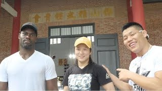Zhang Weili Tours Foshan Chin Woo Athletic Association with Li Jingliang and Uriah Hall