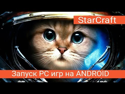 Запуск PC игр на Android №3 StarCraft