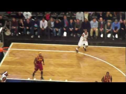 Cleveland Cavaliers vs Brooklyn Nets Dion Waiters Slam Dunk 11/13/12