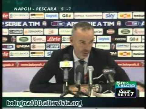 Bologna FC 1909 02/12/2012 Bologna – Atalanta 2-1 Pioli in sala stampa