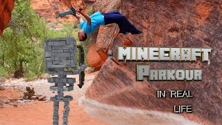 MINECRAFT PARKOUR Story Mode In REAL LIFE