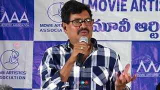 Movie Artists Association Press Meet on Kerala Floods