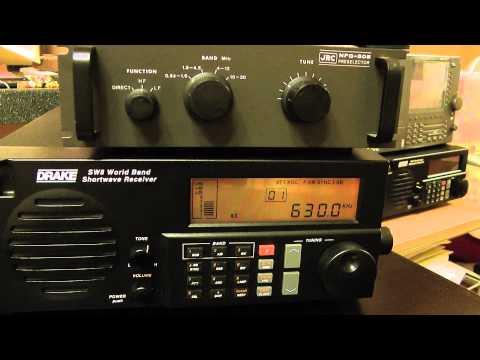 630kHz 4QN-Australian Broadcasting Corporation (ABC) Local Radio, North Queensland & KUAM di Guam