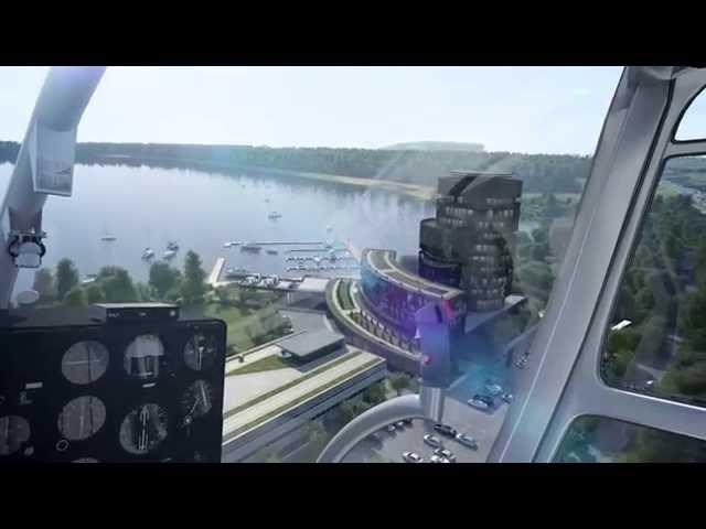 Хелипорты России (презантационный фильм)