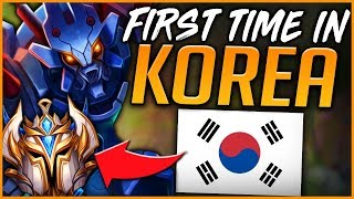 FIRST TIME IN KOREAN SOLO QUEUE | TOP NA JUNGLER KR ROAD TO CHALLENGER - League of Legends
