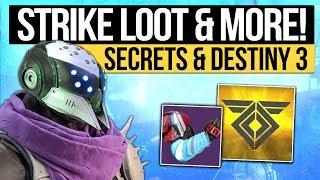 Destiny 2 News | STRIKE SPECIFIC'S RETURN! - Maintenance, Future Loot & Destiny 3 in Development!