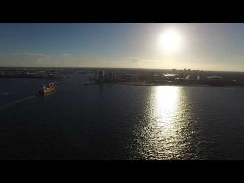 DJI Inspire 1   4k   Spanish River Beach & Fort Lauderdale Beach   Florida