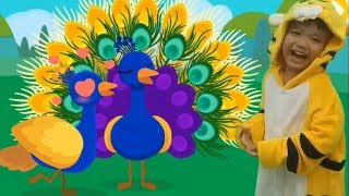 Bé học tên các loài động vật sống trong rừng p1 hoạt hình vui nhộn Kênh trẻ em - video cho bé yêu
