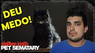 CEMITERIO MALDITO (2019) | REAÇÃO AO TRAILER 2 (PET SEMATARY 2019 REACTION) (REACT)