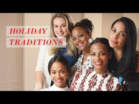Holiday Traditions | Rosé Roundtable with Zoe Saldana ft. Nikki Baker and Mirtha Michelle