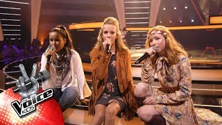 Victoria, Indy & Stien - 'Lost On You' | The Battles | The Voice Kids | VTM
