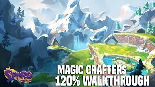 Spyro The Dragon - Magic Crafters 120% Walkthrough (Dragons, Gems & Eggs)