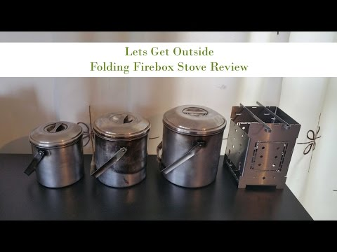 Folding Firebox Stove Review Part 1 of 2