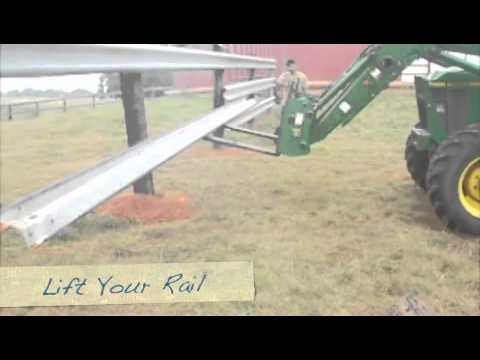 Used Guardrail Fence Installation Best Cattle Fence