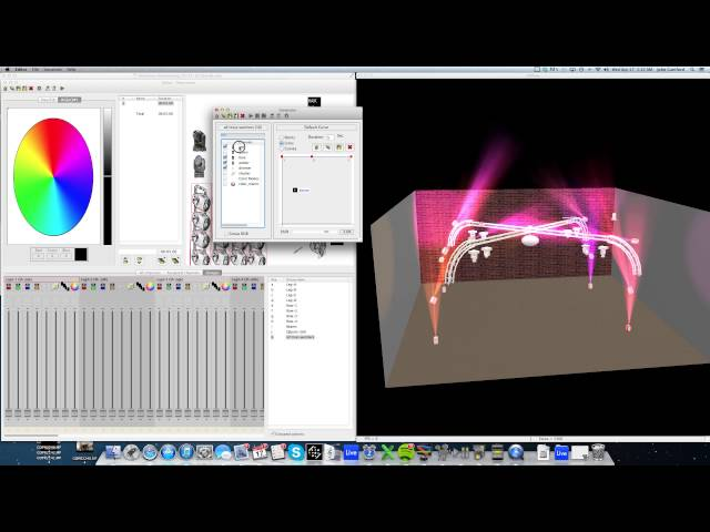 "Chauvet Showxpress - Color Generator How To ""CRAZY COLOR"" DMX Lighting"