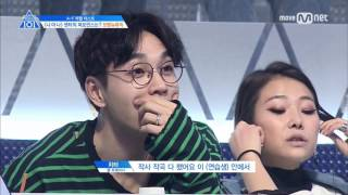 "Produce 101Kim Dong-hyun,Park Woo-jin,Dae-hwi Lee,Young-min Lim-sings ""Welcome to my hollywood"""