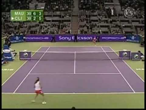 [HL] Amelie モーレスモ vs. Kim Clijsters 2006 WTAツアー選手権 [SF]