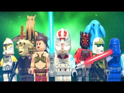 LEGO Star Wars : JEK-14, Darth Maul, Clone Commander, & More! LEAKED Minifigures - Early Review