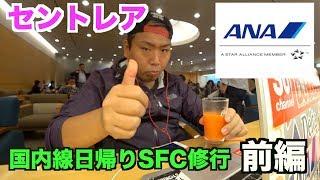 【SFC修行】セントレアから日帰りSFC修行レビュー前編!#セントレア#SFC修行#ANA