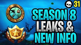 EVERYTHING We Know About Fortnite Season 8! (Season 8 Map + Battle Pass Leaks)