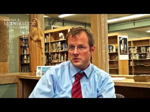 Illinois Democracy Schools: Michael Dougherty, Josephinum Academy - 10/25/2013