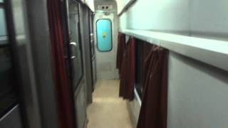 FIRST AC INTERIOR: 12260 NEW DELHI SEALDAH DURONTO EXPRESS