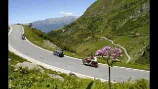 In Moto ... al Passo di San Marco (On the Motorcycle...riding up San Marco Pass) HD